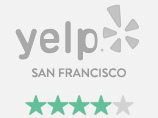 Brilliant Earth has 4.0 stars on Yelp San Francisco